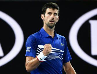 Australian Open: Djokovic bezwingt Tsonga in drei Sätzen