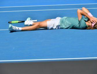 """""""Ich lebe meinen Traum"""": Federer-Bezwinger Tsitsipas im Halbfinale"""
