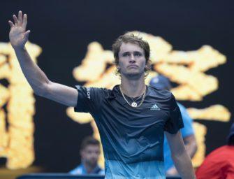 Zverev scheitert im Achtelfinale der Australian Open