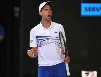 Djokovic nach Sieg über Shapovalov im Achtelfinale