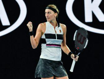 Kvitova nach Sieg über Australierin Barty im Halbfinale von Melbourne