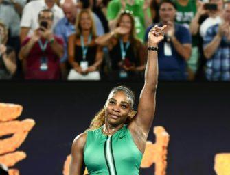 Australian Open: Williams ohne Satzverlust in der dritten Runde