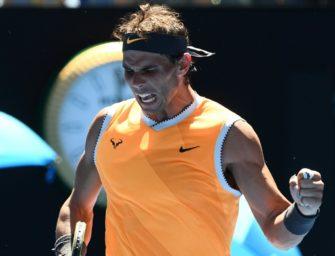 Nadal mit souveränem Auftaktsieg in Melbourne