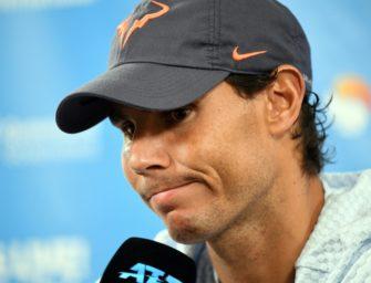 Nadal sagt Teilnahme in Brisbane wegen Oberschenkelblessur ab