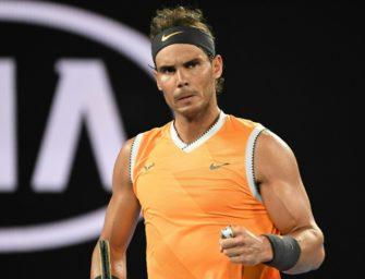 Weiter ohne Satzverlust: Nadal stürmt ins Finale der Australian Open