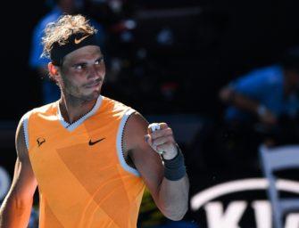Nadal erreicht Viertelfinale in Melbourne ohne Satzverlust