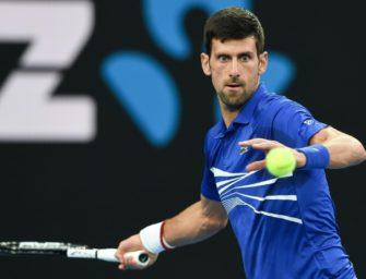 Nishikori gibt auf – Djokovic im Halbfinale der Australian Open