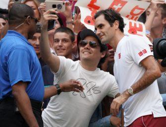 Federer-Fanatics sind falsche Fans