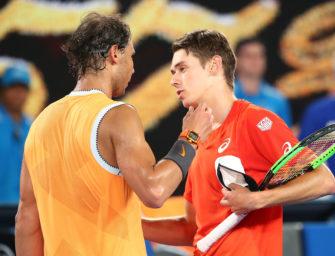 """Australian Open Podcast: Nadals Lehrstunde für den """"Demon"""""""