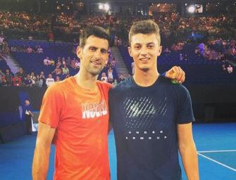 Deutscher Hitting-Partner: Wie Novak Djokovic seinen Melbourne-Titel einfädelte