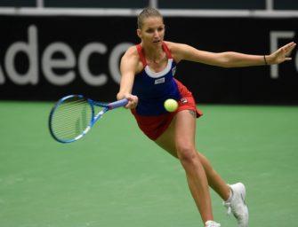 Fed Cup: Tschechien muss sich gegen Rumänien strecken – Frankreich führt in Belgien