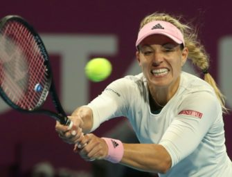 Kerber verpasst in Doha ihr erstes Finale seit Wimbledon