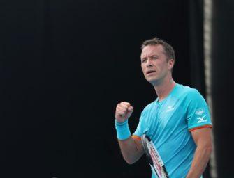 Krimi im Davis Cup: Kohlschreiber kämpft sich gegen Nobody durch