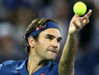 Federer im Halbfinale von Dubai: Noch zwei Siege zum 100. Titel