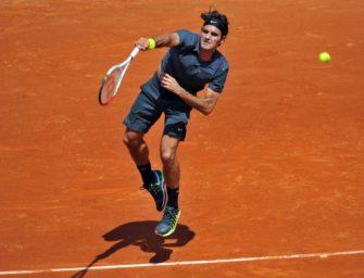 Federer feiert Sandplatz-Comeback spätestens in Madrid