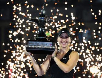 WTA Dubai: Belinda Bencic krönt Traumwoche mit Titel