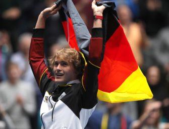 """Liveblog Davis Cup:  DTB-Team durch! Zverev: """"Spiele DC nicht wegen Geld"""""""
