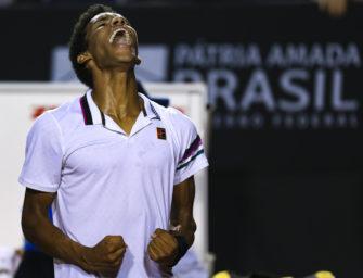 Finale! Felix Auger-Aliassime begeistert in Rio de Janeiro
