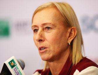 Martina Navratilova gegen Transgender-Athleten im Frauensport
