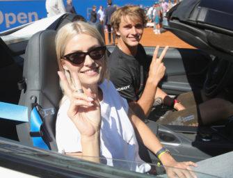 Lena Gercke und Alexander Zverev: Geht da etwa was?