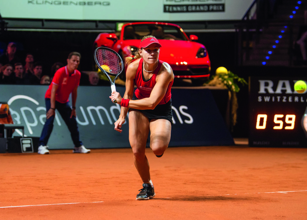 Gewinnen Sie Tickets Für Den Porsche Tennis Grand Prix