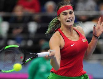 Fed Cup: So stark ist das Team aus Weißrussland