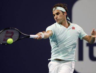 Miami: Federer nach Sieg über Shapovalov im Finale gegen Isner