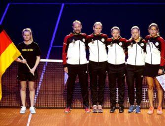 Fed Cup: Kerber und Görges geben Zusage für Relegationspiel in Lettland