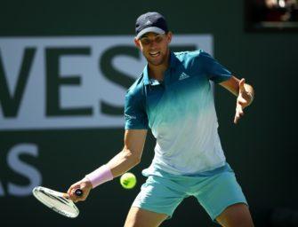 Thiem schlägt Raonic – Federer kampflos gegen Nadal