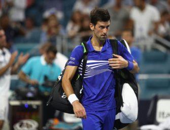 Nächste frühe Pleite: Djokovic verliert im Achtelfinale von Miami