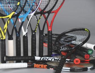 tennis MAGAZIN Schlägertest 2019: 16 Rackets für Club- und Medenspieler