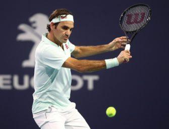 Miami: Federer mühelos ins Halbfinale