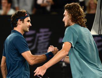 Ab 16 Uhr: Federer gegen Tsitsipas im Gratis-Livestream bei SKY