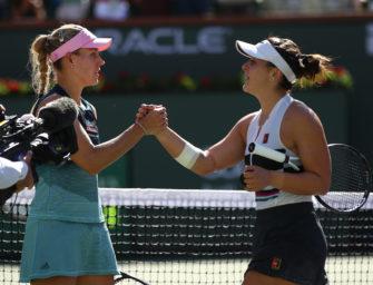 Duell der Generationen: Kerber verliert gegen Andreescu
