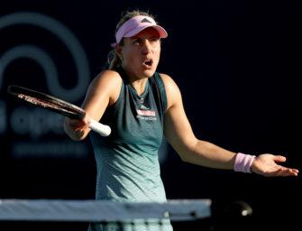 "Miami Open: Kerber bezeichnet Andreescu als ""Drama Queen"""