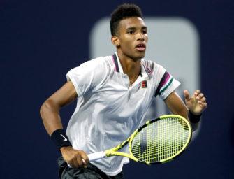 Halbfinale in Miami: Felix Auger-Aliassime besser als Nadal & Co.