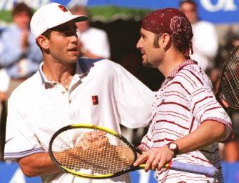 Miami Open: Die Fairplay-Geste von Agassi gegenüber Sampras