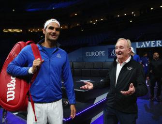 Rod Laver: Federer ist der Größte