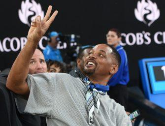 Will Smith: Der größte Tennisfan