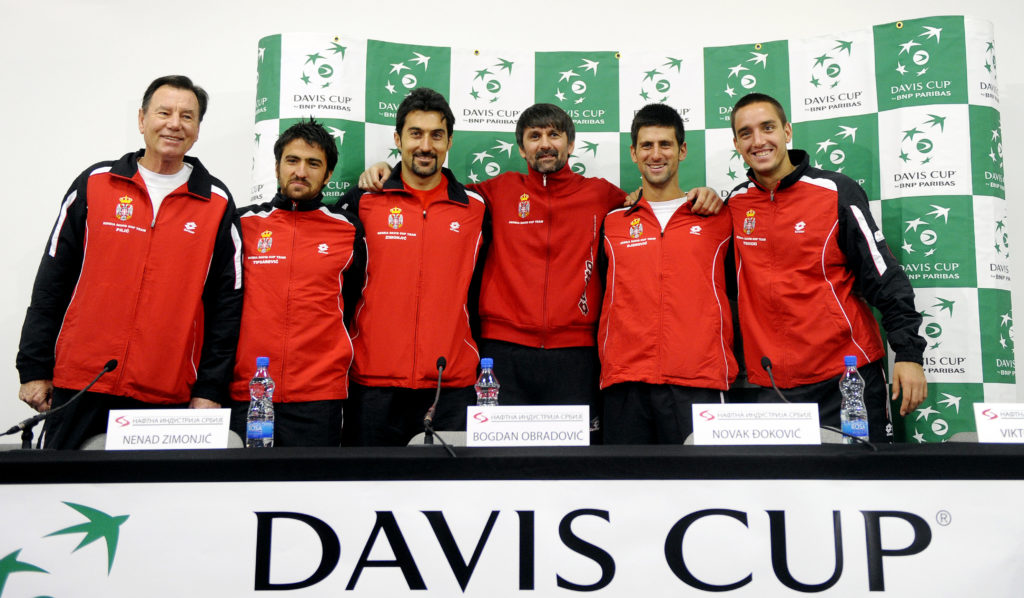 Niki Pilic, Novak Djokovic