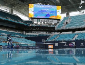 Regen bei den Miami Open: Zwischen NFL-Flair und Sunshine-Double