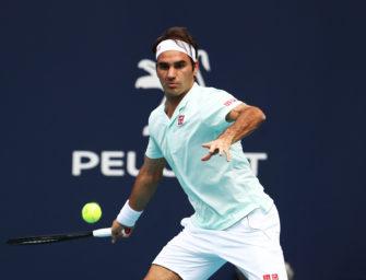 """Roger Federer: """"Geht darum, ein gewisses Niveau zu halten"""""""