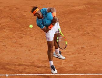 Nadal nach Auftaktschwächen im Achtelfinale von Barcelona
