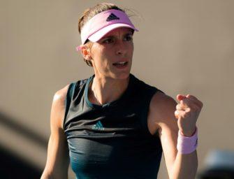 Sieg gegen Ostapenko: Petkovic bringt Fed-Cup-Team in Führung