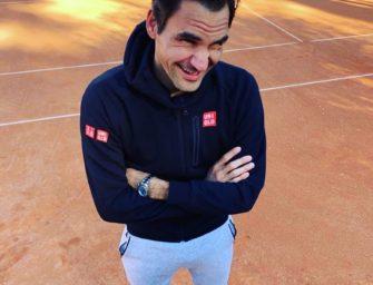 Hallo Sand! Roger Federer ist zurück auf der roten Asche
