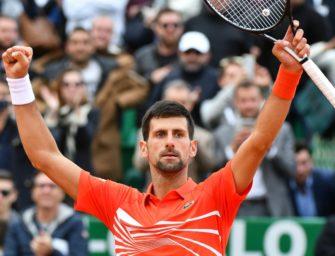 Djokovic im Viertelfinale von Monte Carlo