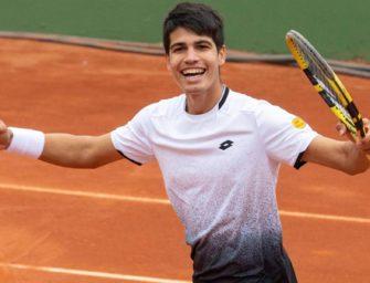 """Spaniens Talent Carlos Alcaraz, 15 Jahre: """"Ich will wie Rafa sein!"""""""