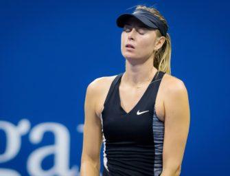 Scharapowa sagt Turnierstart in Stuttgart ab