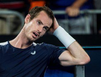 """""""Ein Anfang"""": Murray schlägt wieder Bälle"""