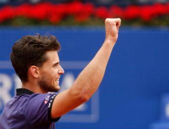 Thiem gewinnt ATP-Turnier von Barcelona